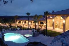 Het Huis van de luxe stock afbeelding