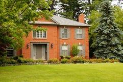 Het Huis van de luxe met Blinden Stock Fotografie