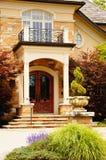 Het Huis van de luxe met Blinden Royalty-vrije Stock Foto