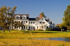 Het Huis van de luxe op de Chesapeake Baai royalty-vrije stock foto