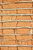 Het huis van de modder (Textuur) Stock Foto