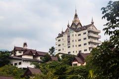 Het huis van de Modrenmonnik Royalty-vrije Stock Afbeeldingen