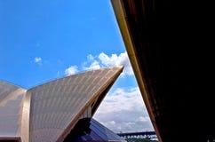 Het Huis van de opera, Sydney stock foto's