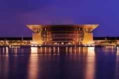 Het huis van de opera van Copengagen Stock Afbeelding