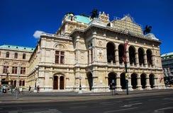 Het Huis van de Opera van de Staat van Wenen royalty-vrije stock foto's