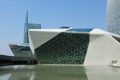 Het Huis van de Opera van Guangzhou stock afbeeldingen