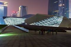 Het Huis van de Opera van Guangzhou Royalty-vrije Stock Foto