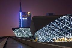 Het Huis van de Opera van Guangzhou Royalty-vrije Stock Afbeeldingen
