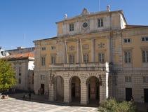 Het Huis van de Opera van Lissabon Stock Foto