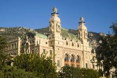 Het Huis van de Opera van Monte Carlo Stock Afbeelding