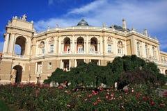 Het Huis van de Opera van Odessa Stock Fotografie