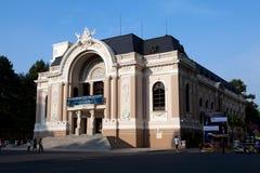 Het Huis van de Opera van Saigon stock afbeelding