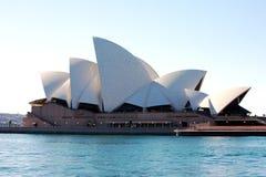 Het Huis van de Opera van Sydney in Australië royalty-vrije stock afbeelding