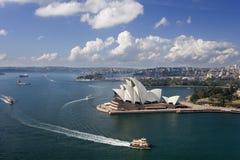 Het Huis van de Opera van Sydney - Australië stock fotografie