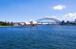 Het Huis van de Opera van Sydney in Sydney, Aus Royalty-vrije Stock Fotografie