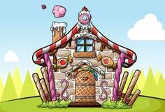 Het huis van de peperkoek Royalty-vrije Stock Fotografie