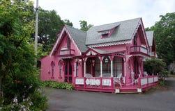 Het huis van de peperkoek Stock Foto's
