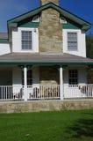 Het huis van de periode 19de eeuw stock afbeeldingen