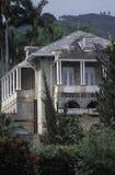 Het Huis van de President van de Republiek, Trinidad en Tobago Stock Afbeelding