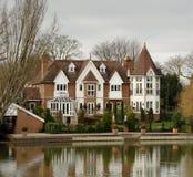 Het Huis van de rivieroever royalty-vrije stock afbeelding