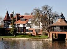 Het Huis van de rivieroever royalty-vrije stock fotografie