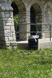 Het Huis van de Schuilplaats van de picknick stock fotografie