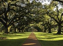 Het huis van de slaveneigenaars in New Orleans stock fotografie