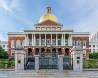 Het Huis van de Staat van Massachusetts in Boston Stock Fotografie
