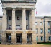 Het huis van de staat in Raleigh North Carolina royalty-vrije stock foto's