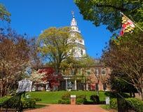 Het Huis van de Staat van Maryland Stock Foto's