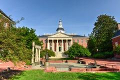 Het Huis van de Staat van Maryland stock afbeeldingen