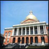 Het Huis van de Staat van Massachusetts Stock Foto