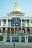 Het Huis van de Staat van Massachusetts in Boston, doctorandus in de letteren Royalty-vrije Stock Afbeeldingen