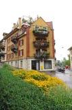 Het huis van de stad Royalty-vrije Stock Foto