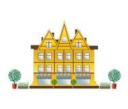 Het huis van de stad Royalty-vrije Stock Afbeelding