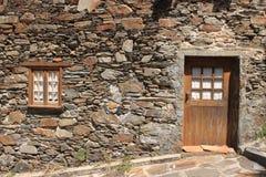 Het huis van de steen Stock Fotografie