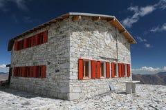 Het huis van de steen Stock Afbeelding