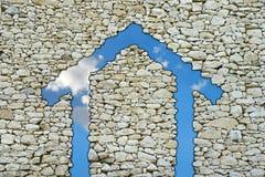 Het huis van de steen Royalty-vrije Stock Fotografie