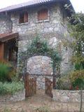 Het huis van de steen Stock Foto