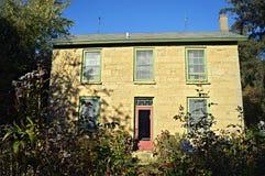 Het huis van de steen Royalty-vrije Stock Foto