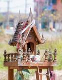 Het huis van de Thaise geest stock foto