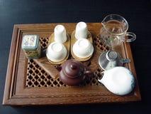 Het huis van de thee stock afbeelding