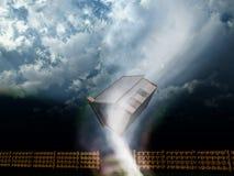 Het Huis van de tornado Stock Afbeeldingen