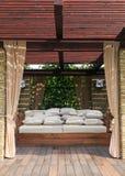 Het huis van de tuin stock afbeeldingen