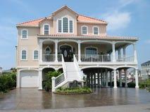Het huis van de vakantie royalty-vrije stock fotografie