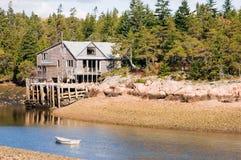 Het huis van de visser royalty-vrije stock foto