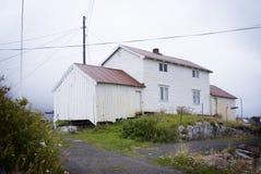 Het huis van de visser Stock Afbeelding