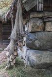 Het huis van de visser royalty-vrije stock afbeeldingen