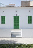 Het huis van de visser uit Majorca. royalty-vrije stock foto's