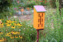 Het huis van de vlinder Royalty-vrije Stock Afbeeldingen